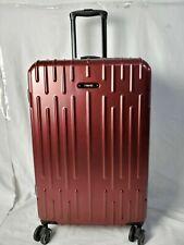 """$200 Revo Rain 25"""" HardCase Expandable Spinner Wheel Suitcase Luggage Red"""