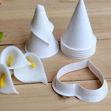 7 Stück Kunststoff Fondant Kuchenform Calla Blume Cutter Moulds Backzubehör DIY