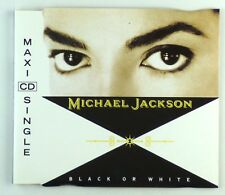Maxi CD - Michael Jackson - Black Or White - A6128