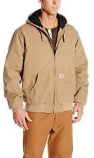 Carhartt Mens Big & Tall Ripstop Hooded Quilt Lined Jacket Coat Winter Fall