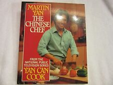 The Chinese Chef by Martin Yan (1986, Paperback) AUTHENTIC ASIAN RECIPES CHINA
