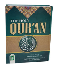 The Holy Quran- Arabic Text English Translation & Transliteration Yusuf Ali (HB)