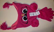 Joe Boxer Girls' Earflap Hat & Stretch Gloves - Owl