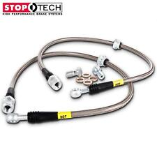 STOPTECH STAINLESS STEEL BRAIDED REAR BRAKE LINES FOR 04-06 PONTIAC GTO ALL