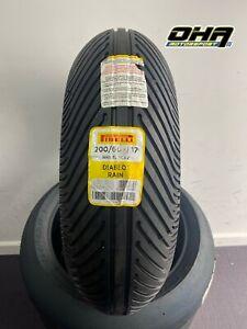 NEW Pirelli Diablo Rain Full Wet SBK - Race / Track Day Rear Tyre 200/60-17 SCR2
