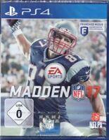 Madden NFL 17 - Playstation - PS4 - deutsch - Neu / OVP