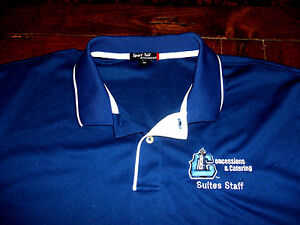 Lake County Captains Team Issued SUITES STAFF 2XL Polo Shirt Cleveland Indians