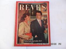 REVES N°146 11/04/1949 ROMAN LA PERLE DE CEYLAN LE FILM QUE J'AI VECU TRICOT G38