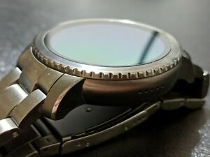 Fossil Q Explorist Gen 3 45mm Smoke Stainless Steel Smartwatch - FTW4001