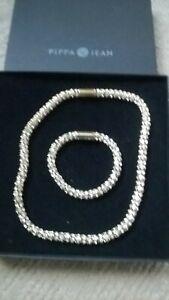 elegante Kette und Armband von Pippa & Jean, wie NEU