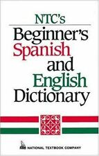 NTCs Beginners Spanish and English Dictionary