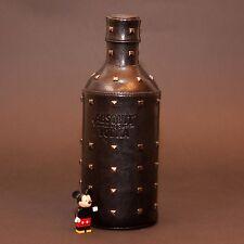 ORIGINAL ABSOLUT VODKA ROCK EDITION LEATHER CASE SKIN BLACK No Bottle only skin