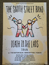 THE SMITH STREET BAND Death To The Lads 2016 Aus Tour Poster A2 NATION BLUE *NEW