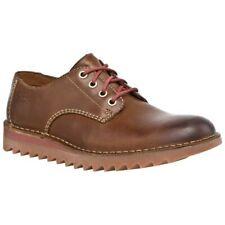 Clarks Mens ** Newby Fly - Premium Tan Lea , Trendy & Durale sole ** UK 11 G