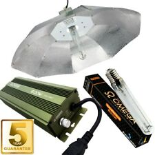 600w Dimmable Digital Ballast Grow Light Kit 1m Parabolic Reflector, HPS Lamp