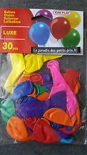 30 ballons fêtes,Ballon,30 ballons de baudruche,30 ballon à gonfler