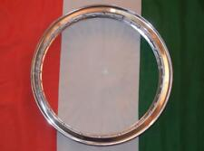 """Norton Matchless drum flanged alloy rim Made In Italy WM2 1.85"""" X 19"""" 40 holeNA3"""