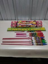 Nice Fireworks label lot Sparklers Rockets Snaps Moon Travelers