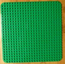 """Large Green LEGO DUPLO base plate - 15""""x15"""" - 24x24 studs"""