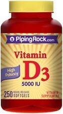 High Potency Vitamin D3 5000 IU