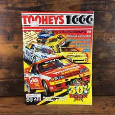 1992 TOOHEYS 1000 BATHURST OFFICIAL RACE DAY PROGRAMME BROCK 30th RACE HDT