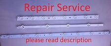 LED TV Backlight Strip Board *Repair Service* Samsung Vizio LG Proscan  Insignia