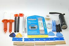 superior mobile phone,tablet repair set,loca glue,uv torch,tools,lcd repair