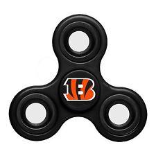 Cincinnati Bengals Diztracto Spinner Logo 3-way Toy Stress Fidget Hand Finger