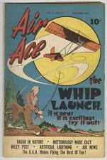 Air Ace Vol 2 #11 September 1945 VG+ The Whip Launch