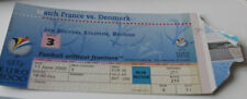 Ticket for collectors EURO 2000 * Denmark - France in Brugge