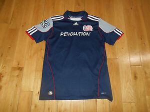 Adidas BENNY FEILHABER #22 NEW ENGLAND REVOLUTION MLS Soccer Jersey Kit Youth Lg