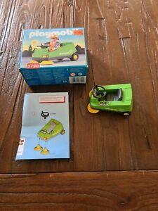 Playmobil 3790 Kehrmaschine Straßenreinigung  Baustelle mit OVP