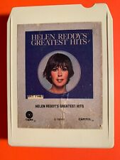 HELEN REDDY: Greatest Hits 8-Track Tape TESTED