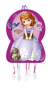 Disney-Princess Sofia Silhouete Pull Piñata - Birthday Party Games, Celebrations