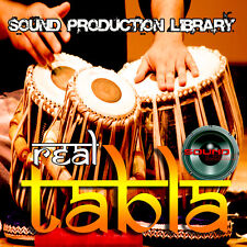 Tabla Real - huge Unique Perfect Wave/Nki Multi-Layer Samples Library on Dvd