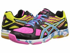 ASICS Gel FLASHPOINT 2 Volleyball Shoes Womens size 11.5 NEW B456N Multiciolor