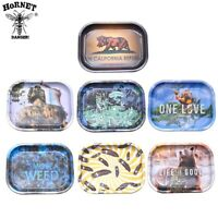 1pcs 18cm Printed Durable Cigarette Tray Rolling Smoking cigarette roller Tray