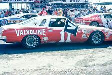1975 DAYTONA 500 8x10 PHOTO #11 CALE YARBOROUGH VALVOLINE CHEVROLET RACING CAR 1