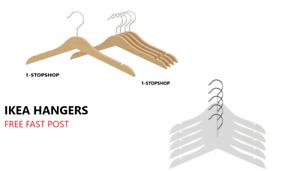 IKEA HANGA Childrens Wooden Coat Hangers / Baby Clothes Hanger free fast post