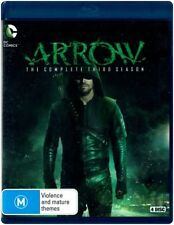 "DC Comics ""ARROW: Season 3"" Blu-ray, 4 Disc Set - Region [B] NEW"