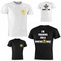 T-Shirt Spartan Race training allenamento palestra tecnica DryTech Bianca / Nera