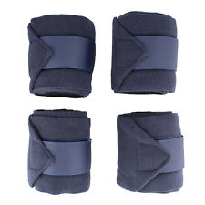 Rural365 | Horse Polo Wrap Horse Leg Wrap 4-Pack in Navy Blue – Horse Leg Wraps