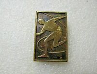 Vintage Badge Sign Skating pin USSR