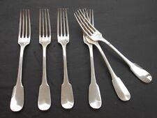 Christofle Cluny six fourchettes de table 20,5 cm