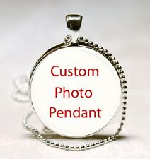 Custom Photo Glass Dome Necklace Pendant (PD0136)