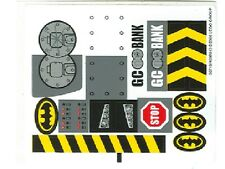 LEGO 7781 - Batman - The Batmobile: Two-Face's Escape - STICKER SHEET