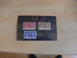 GEORGE VI 1937 CORONATION  ANTIGUIA UN MOUNTED MINT