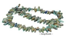 BLUE KYANITE GEMSTONE BLUE MARQUISE OVAL TOPDRILL 12X4MM LOOSE BEADS 7.5""
