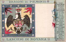 7446) FIRENZE, CAVALLERIA, LANCIERI DI NOVARA. FORMATO PICCOLO.