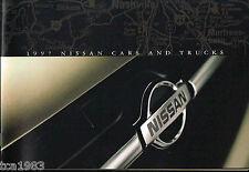 1997 NISSAN Brochure / Catalog:ALTIMA,MAXIMA,200/240 SX,PickUp,PATHFINDER,SENTRA